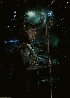 Loki: from a blue box in baker street.