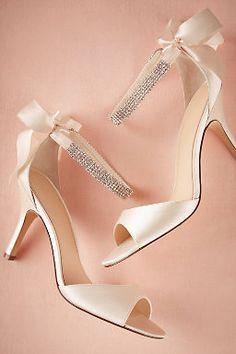 Crystal Bow Heels #BHLDNwishes