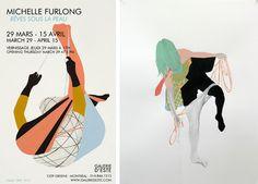 Rêves sous la peau de Michelle Furlong  29 mars - 15 avril   Galerie d'Este