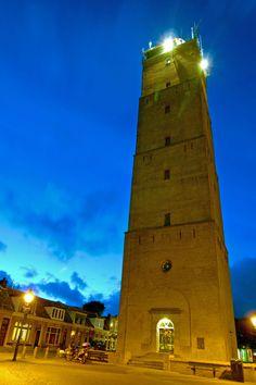 Brandaris Lighthouse on Terschelling, Netherlands