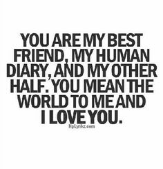 he's my soulmate! #myluv
