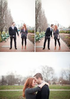 Urban Engagement Session | Schiller Park, Columbus, Ohio | Lily Glass Photography