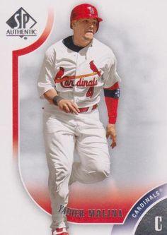 2009 Upper Deck SP Authentic Card 4 Yadier Molina St Louis Cardinals Mint | eBay