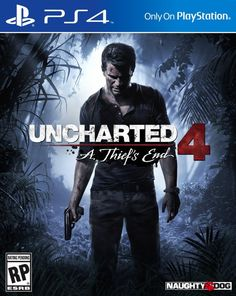 Uncharted comes to the PlayStation A Thief's EndSeveral years after his last adventure, retired fortune hunter, Nathan Drake, is forced… Nathan Drake, Xbox 360, Wii, Playstation Games, Ps4 Games, Games Consoles, Uncharted A Thief's End, Uncharted Series, Musica
