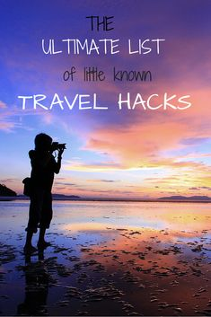 From saving money to packing, here's a list of the ultimate #travel hacks that will make your next trip that much easier.