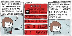 Safely Endangered accurately identifies the no. 1 killer of at-home productivity: Netflix.