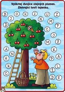 Třešně a písmena