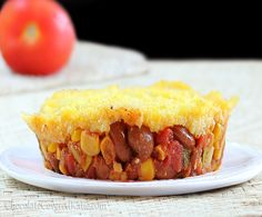 Copycat Amy's Mexican Tamale Pies! Really easy to make, and they're always a big hit at parties.