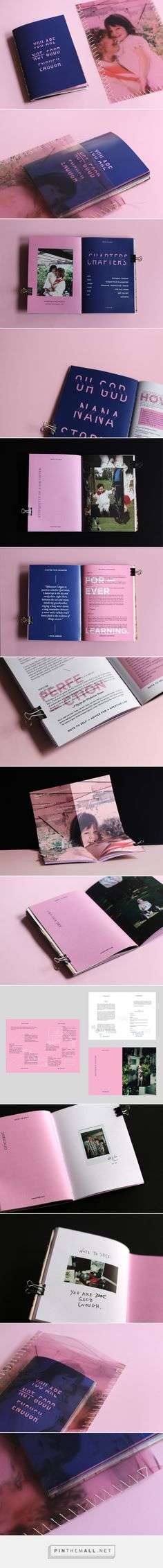 You Are Good Enough // Handbook on Behance... - a grouped images picture - Pin…