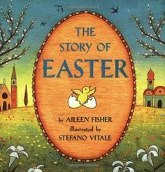 The Story of Easter book. I read this to my children.