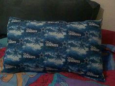 Dallas Cowboys all cotton pillow with poly fill. $10