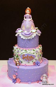 Sophia The First Birthday Cake  Haha Yea Right Party cakepins.com