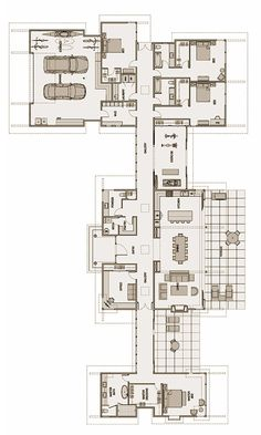 Stillwater Dwellings - (kit home). House Layout Plans, House Plans One Story, Best House Plans, Dream House Plans, House Layouts, House Floor Plans, Home Design Floor Plans, Plan Design, Stillwater Dwellings