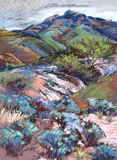 Rincon Mt Foothills by Annie Helmericks Louder The Artist's Road...