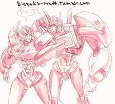 Optimus and elita TFP concept art, lovin' it