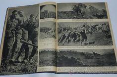 TOMO ENCUADERNADO CON 17 REVISTAS SIGNAL, DIVISION AZUL, II GUERRA MUNDIAL, MUÑOZ GRANDES, DESDE LA (Militar - Fotografía Militar - II Guerr...