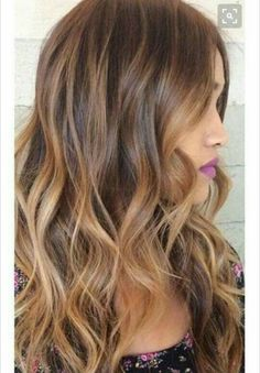 Ombre + highlights