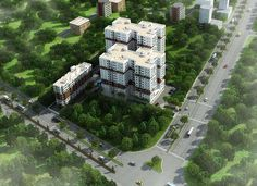 Radiance Mandarin Ariel view http://www.radiancerealty.in/residences/chennai/multi-storey-apartments/radiance-mandarin/