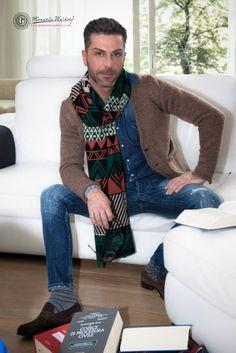 Photo: Giacomo Ambrosino / ManuelaWaldorf_ph Model: Pasquale Tafuro Dress: Michele Lombardi Twoguy Hair: Napolitano L. Giovanni MakeUp: In & Out