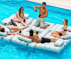 Modular Inflatable Pool/Patio Furniture