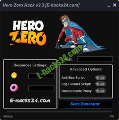 hero zero hack for free coins and donuts