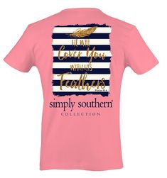 1295c7a1c19c9 Simply Southern Feather T-Shirt - On Sale Now!! 30% Off While