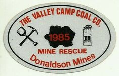 The Valley Camp Coal Co. 1985 Vintage Unused Mining Hard Hat Decal Sticker | eBay Coal Mining, Decals, Camping, Hat, Stickers, Vintage, Campsite, Chip Hat, Tags