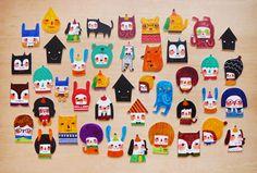minifanfan illustrations