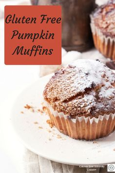 Gluten-free pumpkin muffins are a great fall treat for everyone to enjoy!