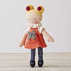 Knit Crowd Toddler Doll Blonde | The Land of Nod
