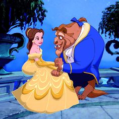 """belle, are you happy here?"""
