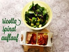 low carb spinach-ricotta-casserole