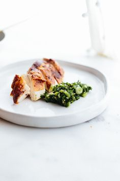 Perfect Roast Chicken with Salsa Verde - Not Without Salt