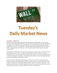 3-25-14 Market News www.equitysourcemortgage.com