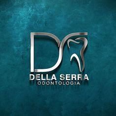 Dental Clinic Logo, Dentist Logo, Dental Office Decor, Medical Gifts, Dental Office Design, Dentistry, Logo Design, Branding, Dental Logo