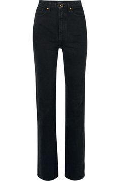jeans, black and white, billie eilish, denim, half and half, black, white, black jeans, white jeans, black and white jeans - Wheretoget Black And White Jeans, Black Pants, Buy Jeans, Jeans Pants, Billie Eilish, Attitude, Punk, Skinny Jeans, Denim
