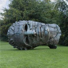 'Eros Bound' by Polish-Italian sculptor Igor Mitoraj Bronze. Shown on the grounds of Chatsworth House. via wtf art history Contemporary Sculpture, Contemporary Art, Expositions, Bronze, Public Art, Sculpture Art, Steel Sculpture, Installation Art, Art History