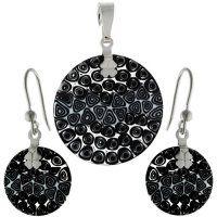 - Set z muránskeho skla Murano Glass, Glass Jewelry, Swarovski