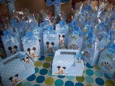 tarjetas de invitacion para cumpleaños de mickey bebe redondo - Buscar con Google