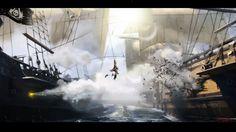 Assassins Creed: Black Flag. Boarding action. by *HarriOsborn on deviantART