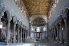 Santa Sabina. Rome, Italy. Late Antique Europe. c. 422–432 C.E.: interior