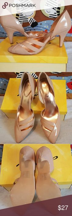 Gomax Carabelle Pointy Toe Pumps Size 7 nude pumps that go with anything, these have never been worn and are NWT. 3 inch heel. Gomax Shoes Heels