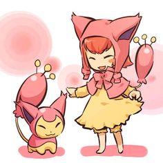 Skitty   Community Post: 100 Human-Like Pokémon Adaptations