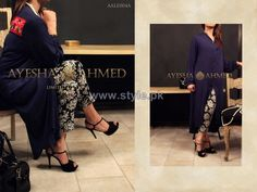 Ayesha Ahmed Party Dresses 2014 For Girls 3