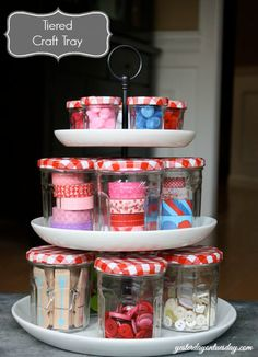 Hometalk :: 5 Fresh Ideas for Organizing With Jars