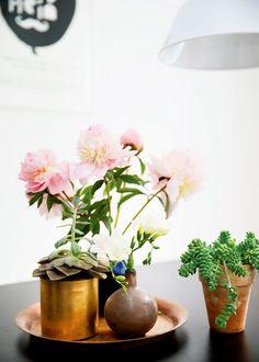 home-tour-vintage-folk-fleurs-cuivre-brossé-detail-deco-mademoiselle-claudine