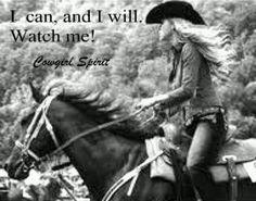 Cowgirl Spirit- Originally pinned by Sarah Paulson