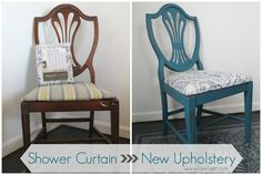 Gorgeous Dining Chair Transformation: Repurpose, Recycle, Reuse - Lovely Etc.