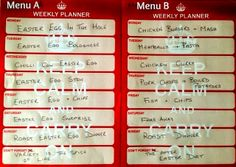#MealPlanningMonday Weekly Planner, Easter Eggs, Meal Planning, Meals, Writing, Blog, Meal, Blogging, Being A Writer