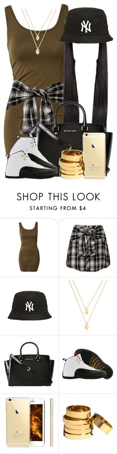 """""""Untitled #311"""" by princess-miyah ❤ liked on Polyvore featuring mbyM, Jules Smith, MICHAEL Michael Kors, TAXI, H&M, women's clothing, women's fashion, women, female and woman"""